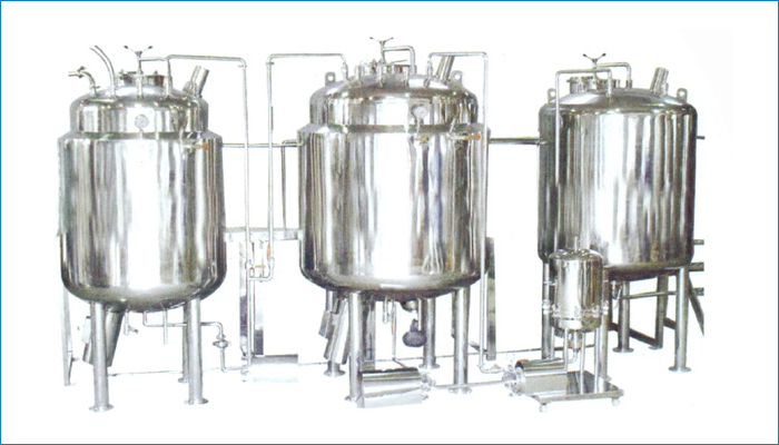 Liquid / Syrup manufacturing Plant